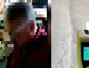 226 promil alkollü çıkınca 'maşallah' dedi