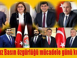 24 Temmuz Basın özgürlüğü ve mücadele günü kutlu olsun