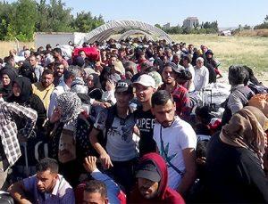 5 bin Suriyeli bayram için gitti