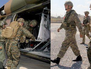 ABDli komutanların üniformaları, terörist üniformaları ile aynı