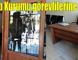 Adli Tıp Kurumu görevlilerine saldırı