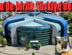 Alleben'de birlik Türkiye'de bir ilk