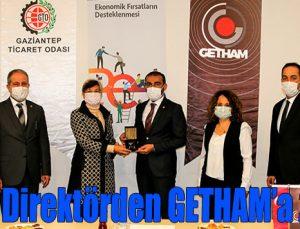 Alman Direktörden GETHAM'a ziyaret