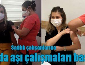 ANKA'da aşı çalışmaları başlandı