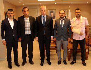 Ankas İstiklal yeni sezon planlamasını Vali Gül'e anlattı