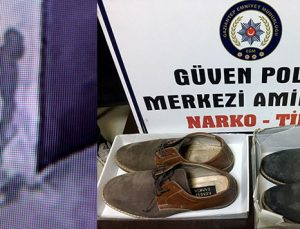 Ayakkabı hırsızı yakalandı