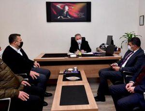 Başkan Mehmet Tahmazoğlu, yeni yıla kamu çalışanları ile girdi