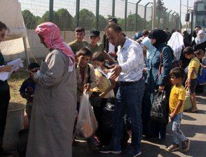Bayramı ülkelerinde geçiren Suriyelilerin dönüşleri sürüyor