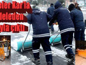Belediyeler Kar'la mücadeleden başarıyla çıktı