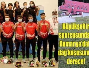 Büyükşehir sporcusundan Romanya'daki dağ koşusunda derece!