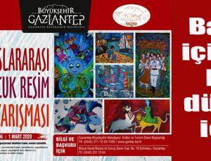 """Büyükşehir'den """"32'nci uluslararası çocuk resimleri yarışması"""""""