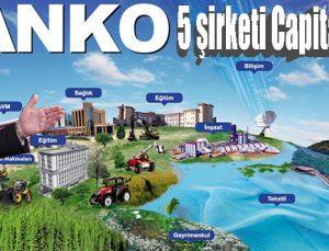 Capital 500'de 5 SANKO şirketi yer aldı