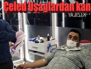 Çeled Uşaglardan kan bağışı