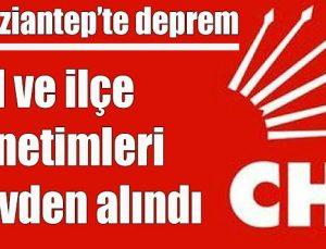 CHP Gaziantep'te deprem