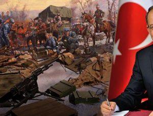 """Dağlı: """" Antep Gazi unvanıyla tarihteki yerini aldı"""""""