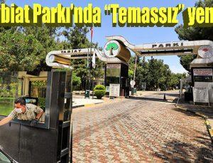 """Dülük Tabiat Parkı'nda """"Temassız"""" yeni dönem"""
