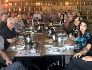 DÜSODER üyeleri toplumsal sorunları masaya yatırdı