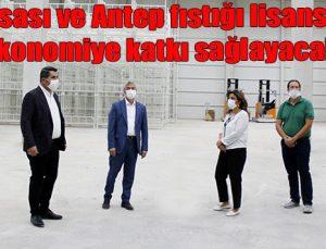 """""""Et borsası ve Antep fıstığı lisanslı depo ekonomiye katkı sağlayacak"""""""
