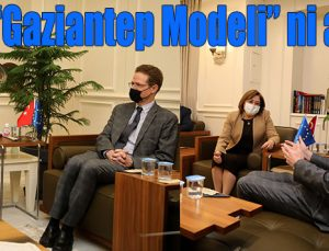 """""""Gaziantep modeli""""ni anlattı"""