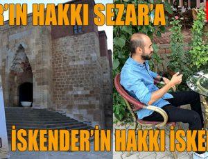 """SEZAR'IN HAKKI SEZAR'A  İSKENDER'İN HAKKI İSKENDER'E"""