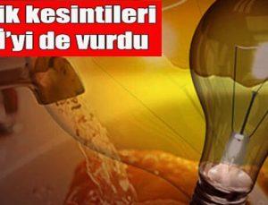 Elektrik kesintileri GASKİ'yi de vurdu