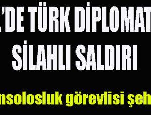 Erbil'de Türk diplomatlara saldırı; 1 şehit