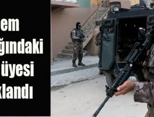 Eylem hazırlığındaki DEAŞ üyesi tutuklandı