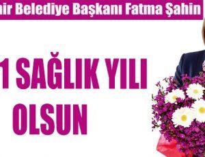 Fatma Şahin'den yeni yıl mesajı