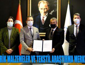 """GAİB """"POLİMERİK MALZEMELER VE TEKSTİL ARAŞTIRMA MERKEZİ"""" KURUYOR"""