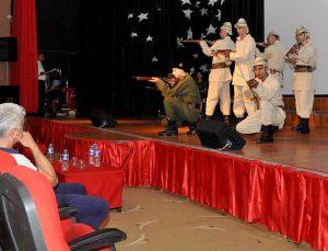 GASİMEP öğrencilerinden Kuvay-i Milliye tiyatro gösterisi