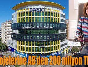Gaski projelerine AB'den 200 milyon TL'lik hibe