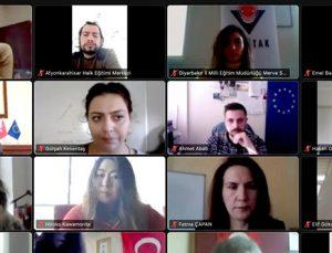 GAÜN yetişkin eğitimi projesi Türkiye Ulusal Ajansı DEOR toplantısında
