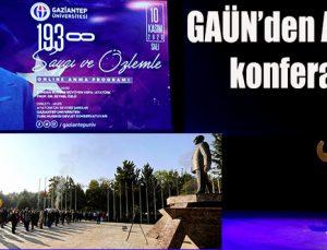 GAÜN'den Atatürk konferansı