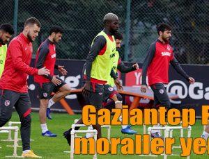Gaziantep FK'da moraller yerinde