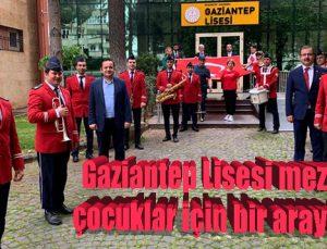 Gaziantep Lisesi mezunları çocuklar için bir araya geldi