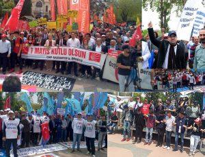Gaziantep'te 1 Mayıs kutlandı