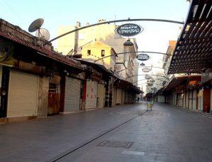 Gaziantep'te, kısıtlama sessizliği