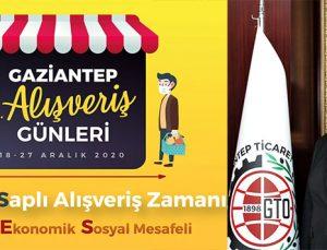 Gaziantep'te alış veriş günleri devam ediyor