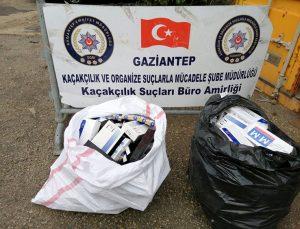 Gaziantep'te bin 970 paket kaçak sigara ele geçirildi