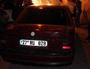 Gaziantep'te polis noktasında dur ihtarında kovalamaca yaşandı