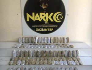 Gaziantep'te uyuşturucu sevkiyatına darbe