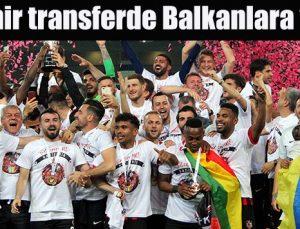 Gazişehir Gaziantep de transferde Balkanlara yöneldi
