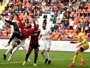 Gazişehir, play off yolunda yara aldı: 2-2
