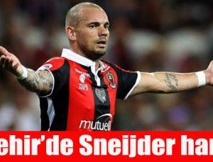 Gazişehir'de Sneijder harekatı