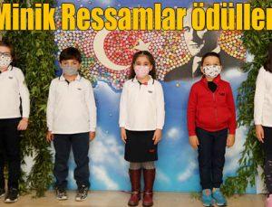 GKV'li Minik Ressamlar ödüllendirildi