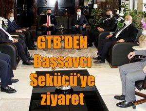 GTB'DEN Başsavcı Sekücü'ye ziyaret