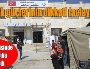 Hastane girişinde canlı bomba yakalandı