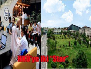 """HKÜ'ye iki """"Star"""""""