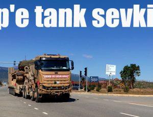 İdlip'e tank sevkiyatı
