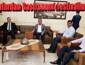 İhracatçılardan Gastronomi festivaline destek